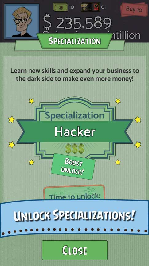 Screenshot 5 of Geeks vs Gangsters the Clicker Game